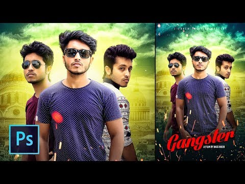Film Poster Design Tutorial | Photoshop Manipulation Tutoria