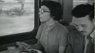 "Santa Fe ""Super Chief"" 1954 educational film"