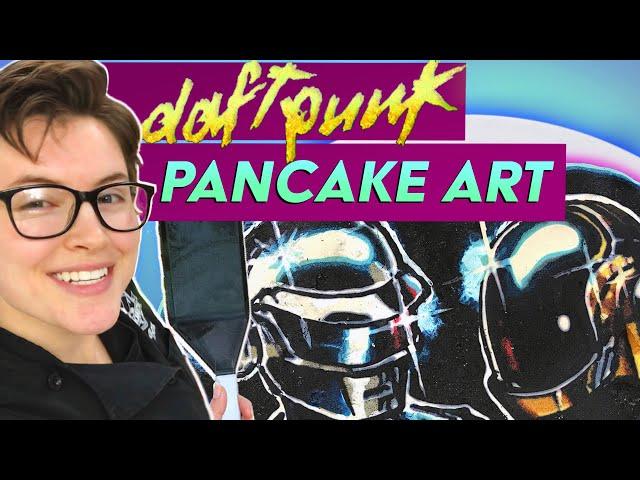 Daft Punk Professional Pancake Art Tribute | #Shorts
