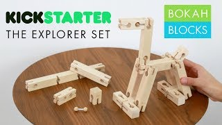 Bokah Blocks Kickstarter: The Explorer Set