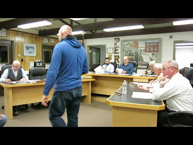 Peru Town Board Meeting  10-17-19