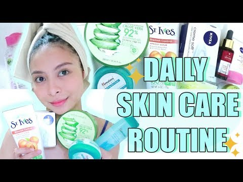 MY TIPID DAILY SKIN CARE ROUTINE! PHILIPPINES| KATH MELENDEZ