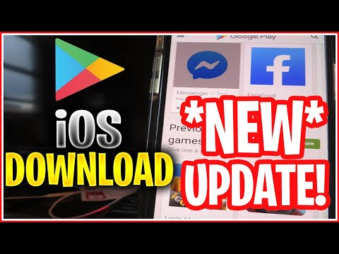 How To Download PlayStore On IOS,iPhone,iPad ✅ Get GooglePlay Store On IPhone *WORKING*