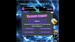 Roblox - New Nonsense Diamond V1.9 - xxmarlonxx115