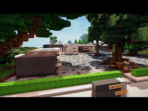 Minecraft construction des abonn s maison minimaliste for Construction maison minimaliste