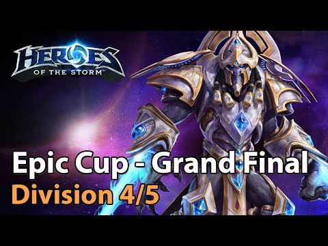 ► Epic Cup Grand Final - Division 4 & 5 - Heroes Of The Storm Amateur Play