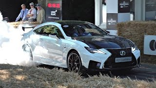 The BEST Car Launches, Burnouts & Wheelspins | Goodwood FoS 2019