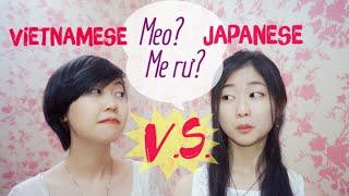 【日本 vs ベトナム】英語のアクセント対決!w