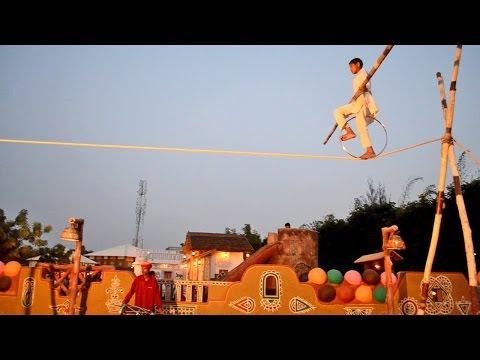 Chokhi Dhani Chennai - Boy Rope Walk