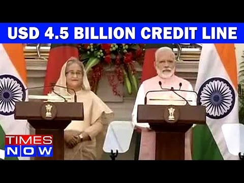 Narendra Modi Announces USD 4.5 Billion Credit Line To Bangladesh | Teesta Issue