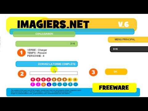 Conjugaison Charger Indicatif Present Youtube