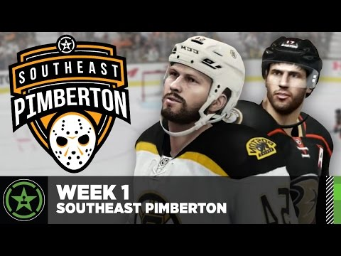Achievement Hunter Hockey League: Week 1 - Southeast Pimberton Division