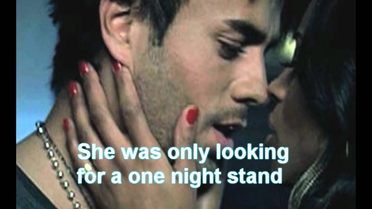 One Night Stand Enrique Iglesias Lyrics