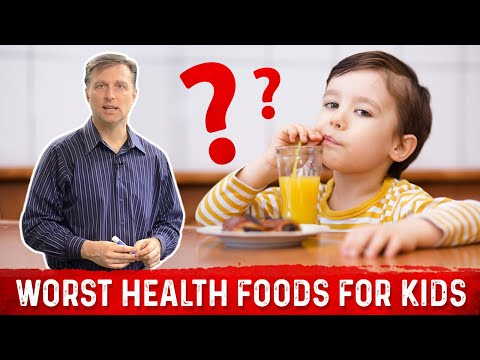"The Worst ""Health"" Foods for Kids"