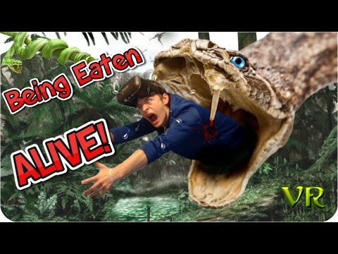 Being Eaten Alive! Virtual reality