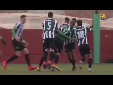 El golazo del lucense Iago Carracedo al Barça B