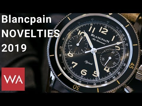 Blancpain Watches 2019. Exclusive Hands-on With Marc Hayek