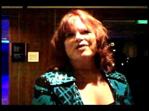 Sharla Smith from Celebrity congratulates Cruise Holidays of Kansas City