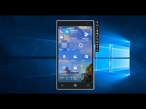 Hands-on with Windows 10 Mobile Build 10563 (Emulator)