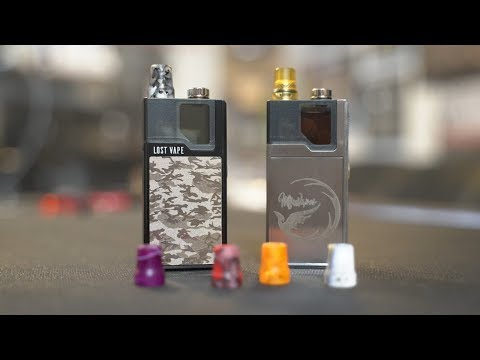 Customizing Your Lost Vape Orion Q Or DNA Go Tutorial - YouTube
