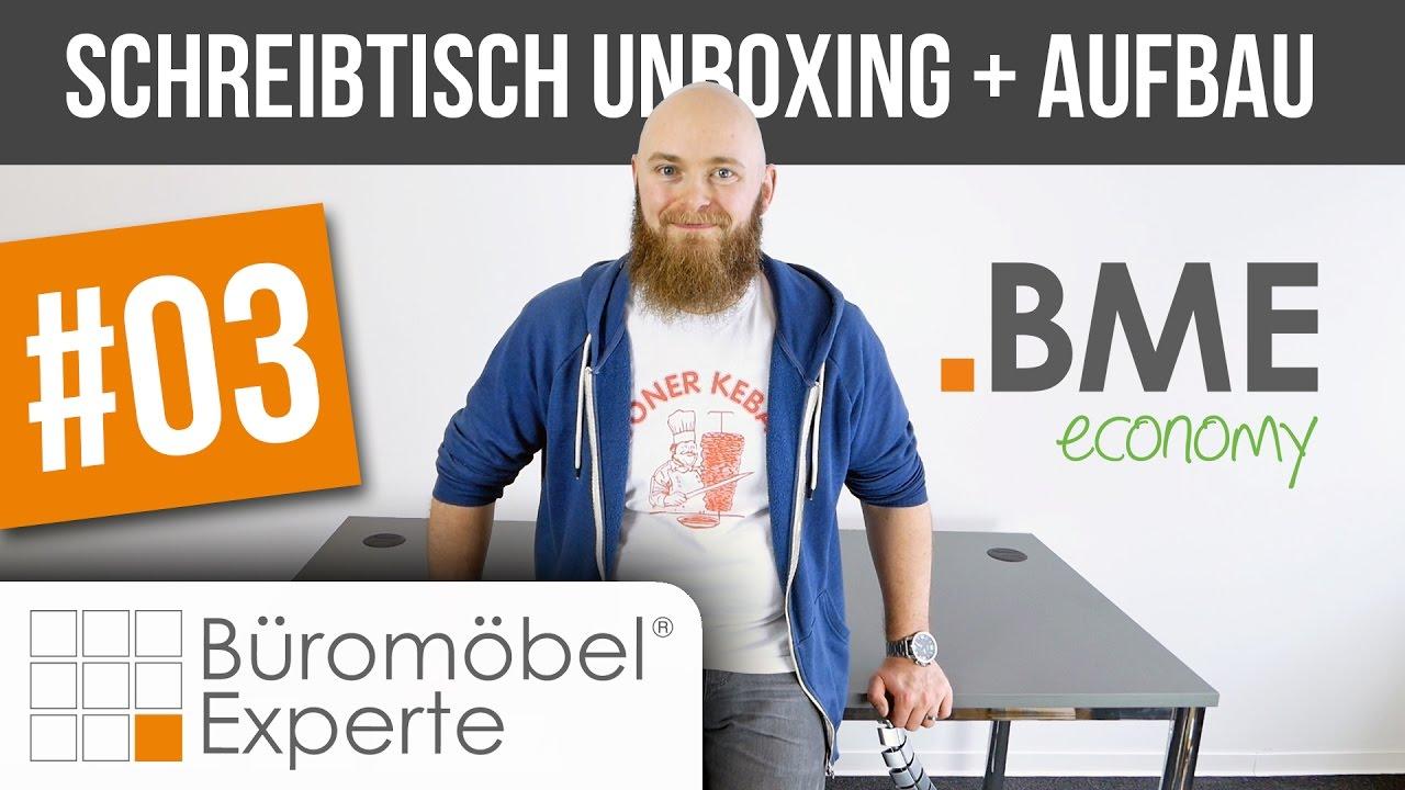 Schreibtisch eco   Unboxing + Aufbau   Büromöbel-Experte #03 - YouTube