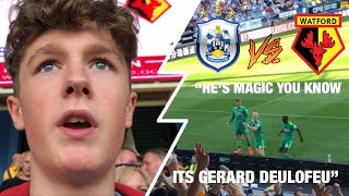 Huddersfield vs Watford *VLOG* ANDRE GREY FAT SCRAPS