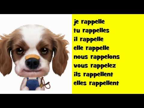 J Apprends La Conjugaison Soul Verbe Rappeler Youtube