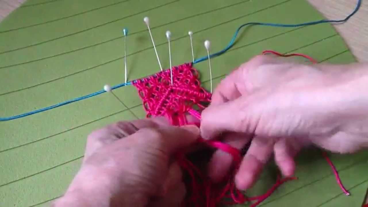 макраме схема плетения браслетав