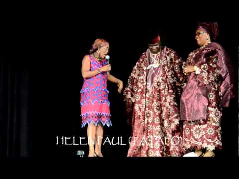 Snippets of HELEN PAUL & WAMILELE from NRC Reunion 2011 Comedy Show in Orlando, FL