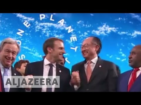 Macron: World Is Losing Battle Against Climate Change - France