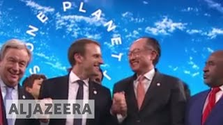 Macron: World is losing battle against climate change