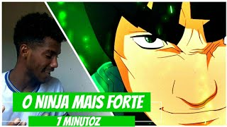 REACT - Rap do Maito Gai (Naruto) - O NINJA MAIS FORTE | NERD HITS ( 7 Minutoz )