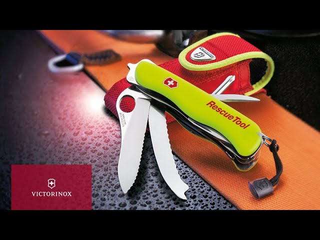 The Rescue Tool - Built to Save Lives | Victorinox