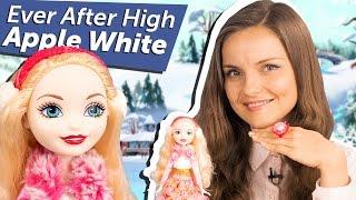 ДАРЮ КУКЛУ! Apple White Epic Winter (Эппл Вайт Заколдованная Зима) Ever After High  Review DPG88