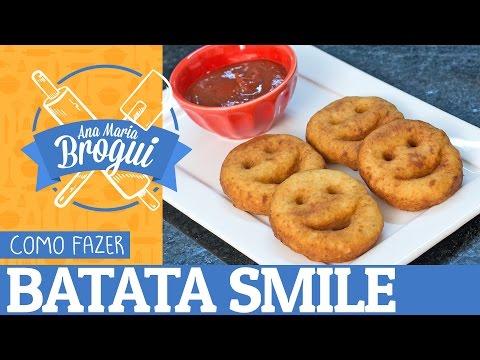 COMO FAZER BATATA SMILE | Ana Maria Brogui #330