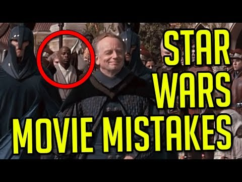 15 Star Wars Movie Mistakes | The Prequel Trilogy