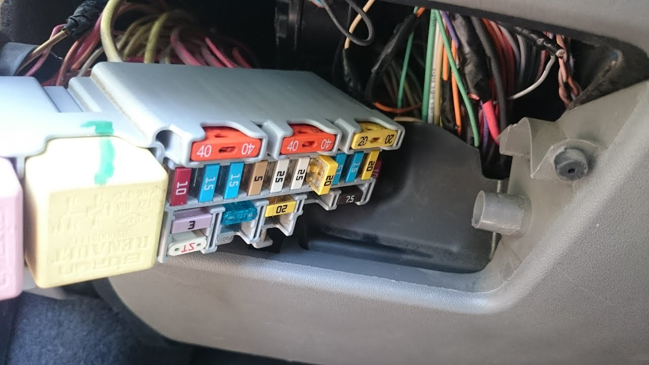 Renault Grand Scenic Fuse Box Location 38 Wiring Diagram Images Layout Maxresdefault 2 Ii Instrument Panel Goes Blank Fix