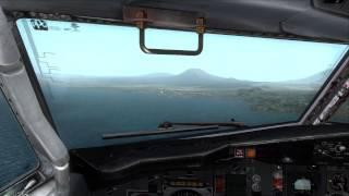 FSX| Africa Captain Sim 737 Approach RWY36 Goma |IVAO