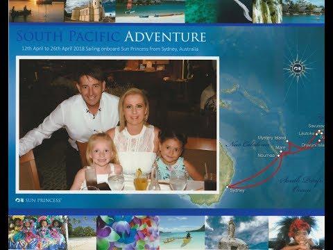 Sun Cruises - Sea Days 13th and 14th April 2018 Heading to Noumea
