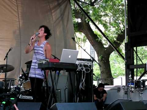 Washed Out - ? / New Theory - Live at Pitchfork 2010 Music Festival