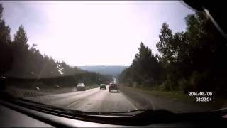 Не гони  Подборка на видеорегистратор аварий и ДТП  август 2014 год