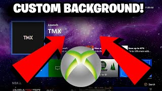 How To Get A *CUSTOM BACKGROUND* On Xbox One! (NO USB REQUIRED!)