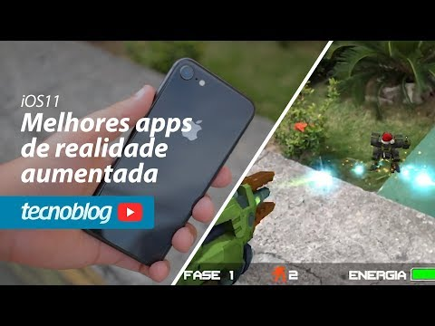 Melhores apps de realidade aumentada para o iOS11 - Tecnofast