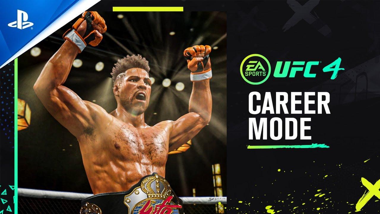 Tráiler oficial del modo Carrera de UFC 4 | PS4