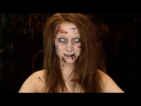 Easy Exorcist Makeup Tutorial