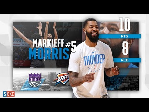 Markieff Morris Adds 10 Points, 8 Rebounds, 2 Blocks in 2nd Game vs Kings | February 23rd, 2019