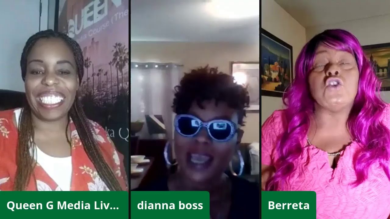 Queen G Live interviews of Dianna Boss and Berreta for Faces of Rap Mothers