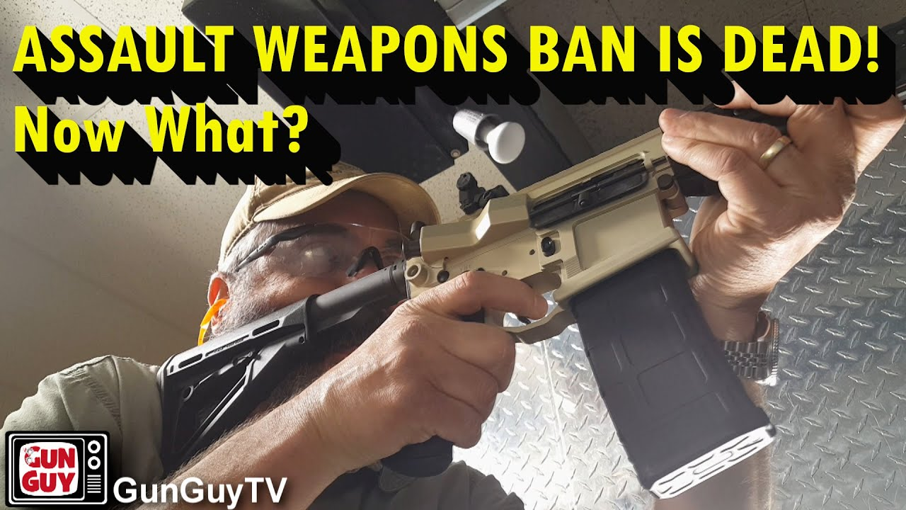 California Assault Weapons Ban Struck Down.  Now What? - Interview with Sam Paredes