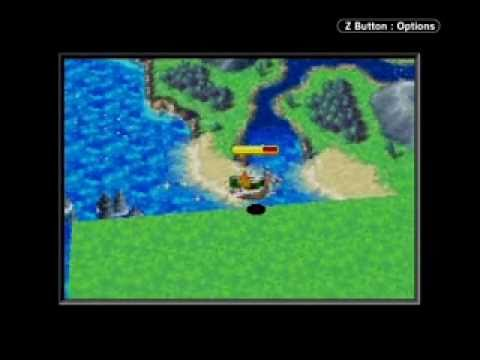 Golden Sun: The Lost Age  World Map Collision Detection Glitch