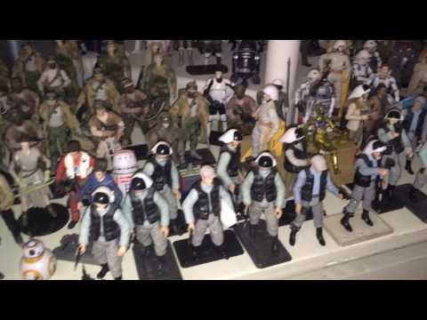 Star Wars Toy Collection (2017) Massive! (Largest loose display of toys?)
